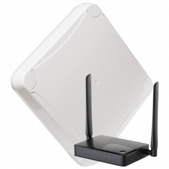 Комплект WIFI 3G/4G DS-4G-16M L-1  MIMO 16дБ, USB 10м, Wi-Fi роутер